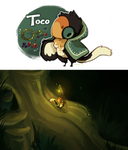 Toco [myo birdfolk] by Skelefrog