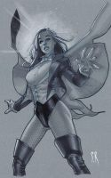 Zatanna Orlando sketch 2010 by StephaneRoux