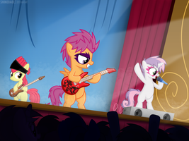 Rockstars Cutie Mark by ShinodaGE