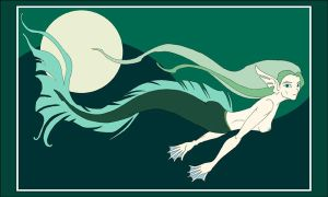 Matisse Mermaid by blue-fusion