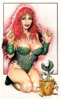 Poison Ivy by Reverie-drawingly