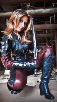 Batman's enemy, lover and ally -  Talia al Ghul by agirlfrommars