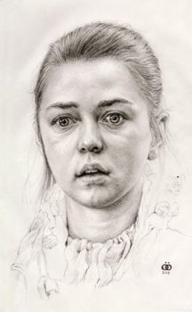 Portrait of a little girl (finished) by oosterbe