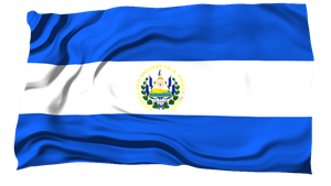 Flags of the World: El Salvador by MrAngryDog