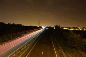 The Road at Night by StuartVinton