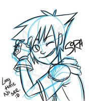 Long Time No See Sora :3 by MiyomotheCat