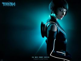 Tron Legacy Quorra Wppr by ockre