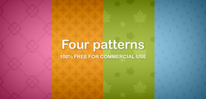 Four patterns by DuckFiles