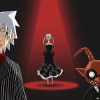 Soul and Maka by fUnKyToEs