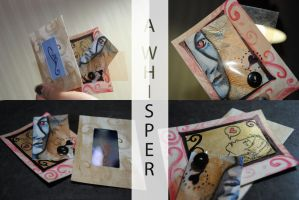 ATC's A Whisper 4 of 4 T by GillianIvy