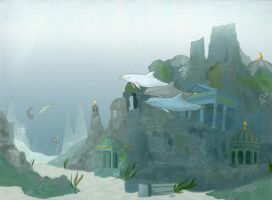 Atlantis Dolphins by dolphinwing