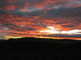 Nov 2008 Foothills Sunset 1 by pricecw-stock
