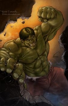 The Incredible Hulk by VinRoc