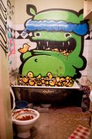 BATHROOM 2012 by KIWIE-FAT-MONSTER