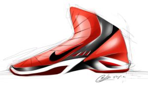 nike basketball shoe design by chrislah294