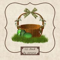 3D Spring Basket by zememz