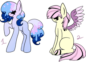 Cheap Pony Adopts! CLOSED! by ButterMuttAdopts