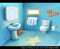 thesis_bathroom by sweetcocoa