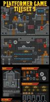 Dungeon Game Tileset by pzUH