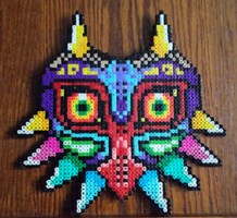 Majora's Mask Perler by Excellente-Mustachio