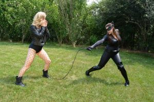 Black Canary vs Catwoman! by Rubbish78