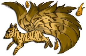9 Tailed Fox Custom for Crystalstripe by GrimmXD-Adopts