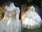 Beauty and the Beast Wedding Gown by Lillyxandra
