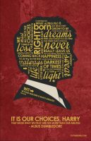 New Harry Potter Quote Poster by outnerdme