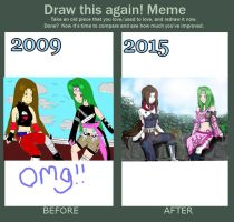 Draw this again meme by Jempower