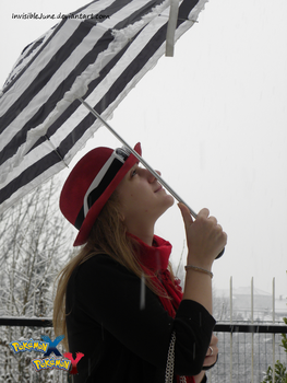 Love when it snows (Serena Cosplay) by InvisibleJune