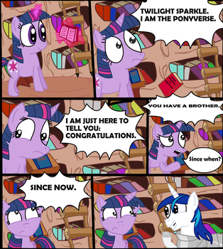 Oh Brother... by ComicCrest