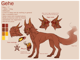 Gehe reference sheet by geheichous