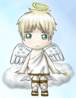 Chibi Britannia Angel by CyanoDrake