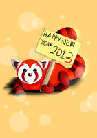 Pabu New Year! by ThePhantomArts