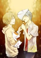 Natsume X Gin by RoezNoah917