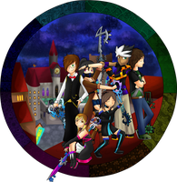 Kingdom Hearts Style Picture by cuteygirl226