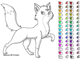 Fox Template 2 by Psunna