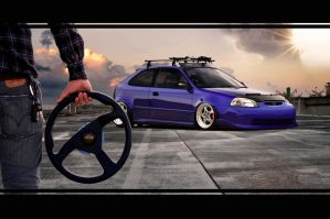CIVIC STYLE GERMAN by ROOF01