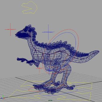 Raptor Thingy Rig by OiMonkey
