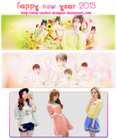 [Pack PSD Cover + Render] Happy Tet Holiday by MinJ-cucheo-Designer