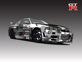Z-Tuned R34 Drifter by brocky-x