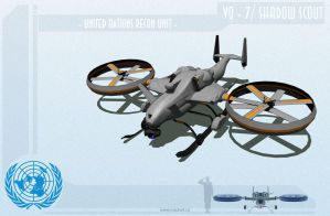 UAV Work In Progress by MackSztaba