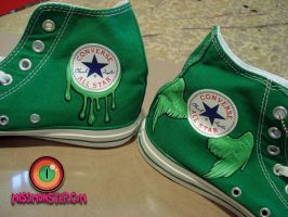 tentacle shoe custom three by missmonster