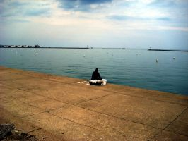 Fishing, Saturday Afternoon by EpicPseudonym