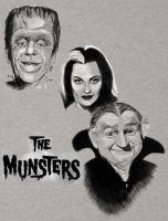 Munsters by workofaart