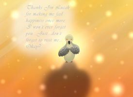 Hatoful Boyfriend Nageki: Gift for Lucahjin by SnivyLover4125