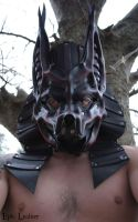 Leather Anubis Mask by Epic-Leather