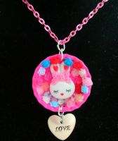 Bunny Love Bottle Cap by Stardom7