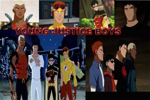 Young Justice Boys by kulovers09