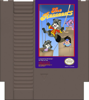 The Raccoons NES Game Pak by KrDoz